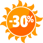 Акция 30%