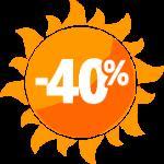 Акция 40%