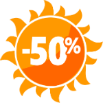 Акция 50%