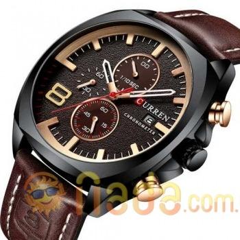 Curren 8324 Brown-Black-Gold