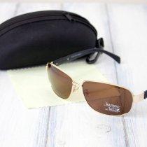 Мужские солнцезащитные очки polarized c футляром F837-3