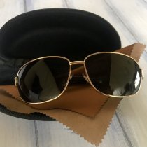 Мужские солнцезащитные очки polarized c футляром F837-2