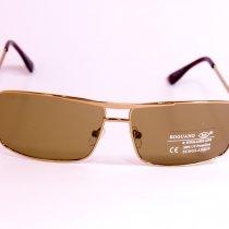 Стеклянные коричневые очки 6539-2
