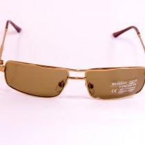 Стеклянные коричневые очки 7515-2