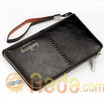 Мужской клатч Baellerry Leather Black